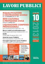 Lavori Pubblici n. 10 - Ottobre 2013