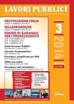 Lavori Pubblici - n. 3 - Marzo 2014