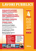 Lavori Pubblici - n. 4 - Aprile 2014