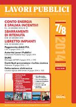 Lavori Pubblici n. 7-8 - luglio/agosto 2014