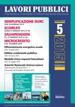 Lavori Pubblici n. 5 maggio 2015
