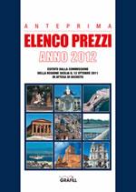 Anteprima Elenco Prezzi 2012 della Regione Sicilia