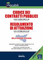 Codice dei contratti pubblici e Regolamento di attuazione nella Regione Siciliana