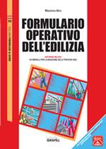 Formulario operativo dell'edilizia