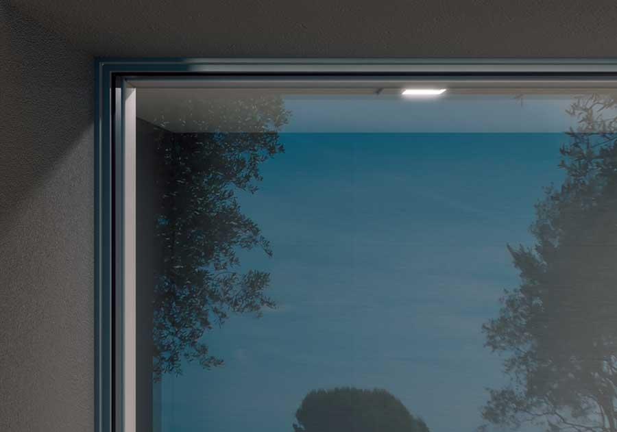 porte finestra vetro