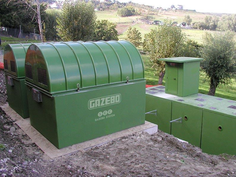 Impianti di depurazione a biodischi (rotori biologici)