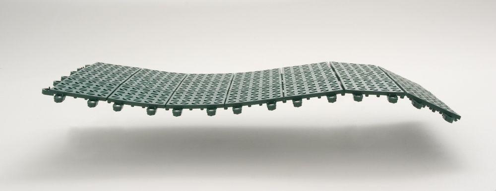 Pavimentazione in plastica flessibile modulare Giwa