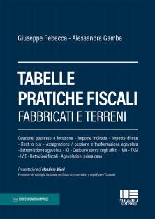 Tabelle pratiche fiscali Fabbricati e terreni