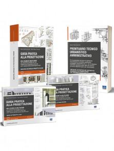 Guida pratica alla progettazione per l'esame di abilitazione e Prontuario tecnico urbanistico amministrativo