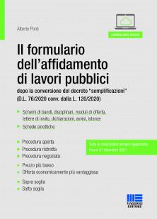 Il formulario dell'affidamento dei lavori pubblici