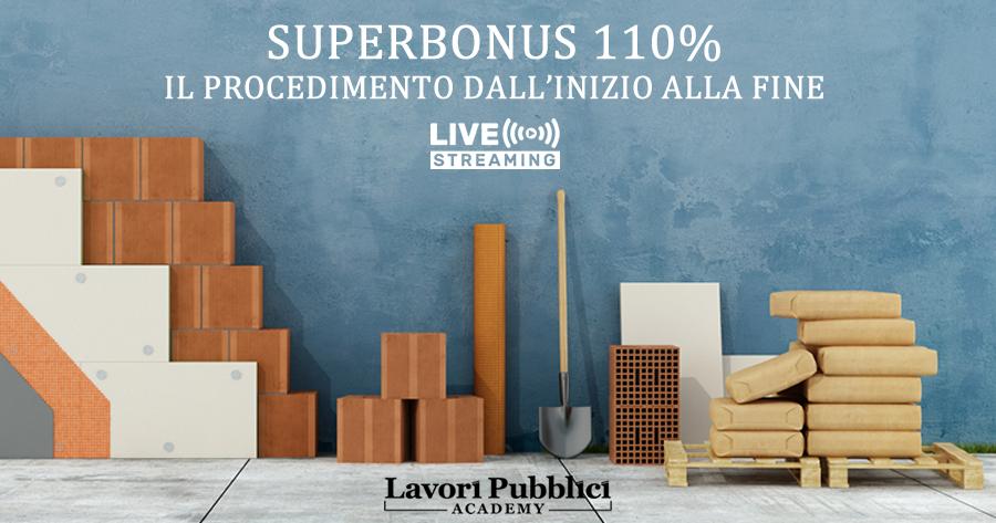 Superbonus 110%: il procedimento dall'inizio alla fine