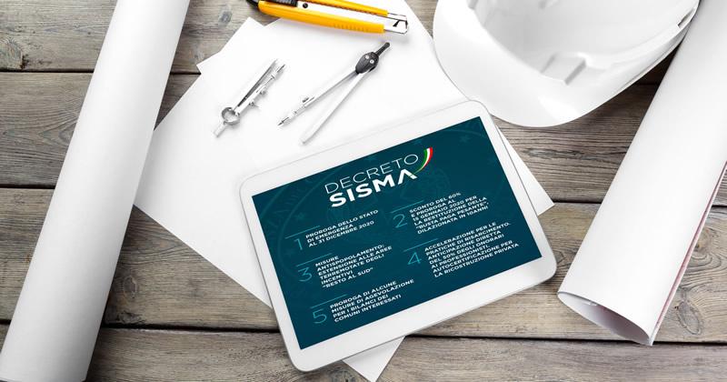 Decreto Sisma e Ricostruzione privata: procedura accelerata per l'avvio dei lavori basata sulla certificazione redatta dai professionisti