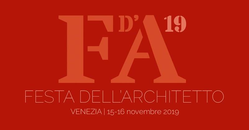 Festa dell'Architetto 2019: assegnati i Premi 'Architetto italiano' e 'Giovane Talento dell'Architettura italiana'