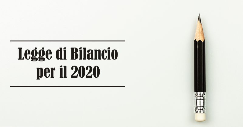 Legge di Bilancio per il 2020, Finco scrive al Ministro dell'Economia