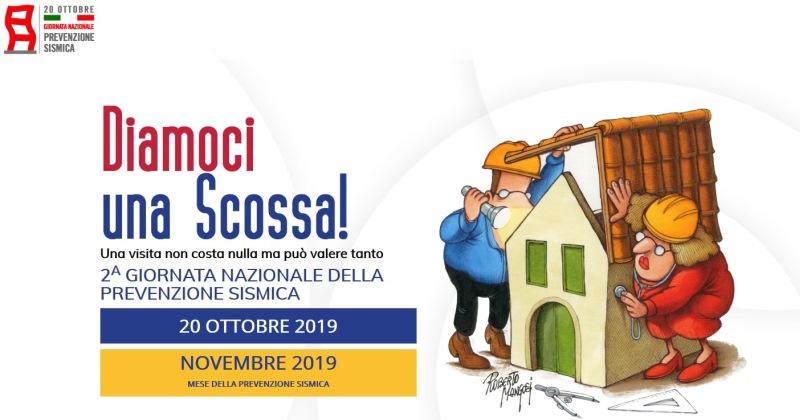 Prevenzione sismica: Domani nelle Piazze Italiane la seconda giornata nazionale