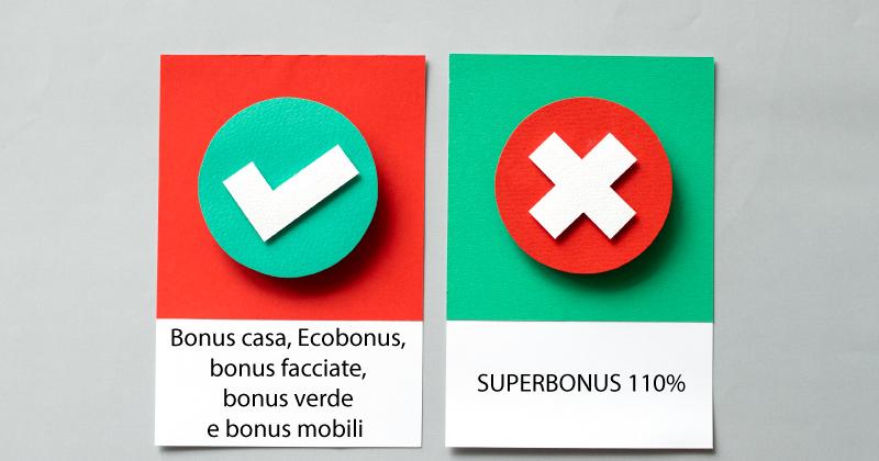 Bonus casa, Ecobonus, bonus facciate, bonus verde e bonus mobili confermati per tutto il 2021