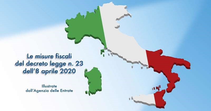 Emergenza COVID-19: L'Agenzia delle Entrate illustra in un Vademecum le misure urgenti del DL n. 23/2020