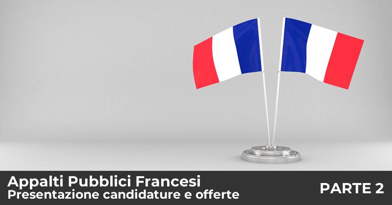 Appalti Pubblici Francesi: la presentazione delle candidature e delle offerte - Seconda parte