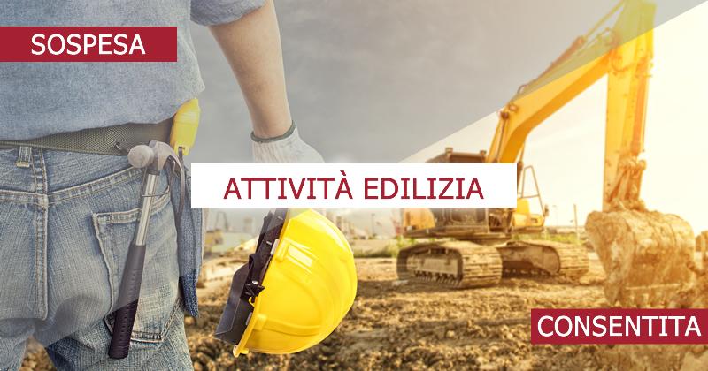Emergenza Covid-19 e Cantieri edili: le attività di costruzione consentite e sospese fino al 3 maggio e dal 4 maggio 2020