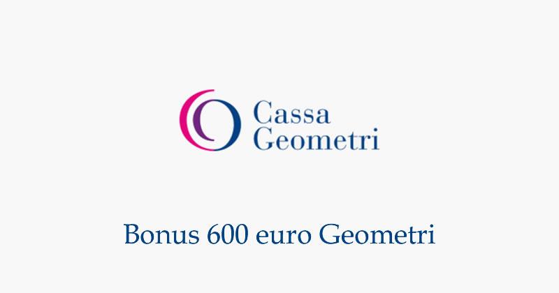 Bonus 600 euro lavoratori autonomi e professionisti Casse private: dalla Cassa Geometri l'applicativo per la domanda online