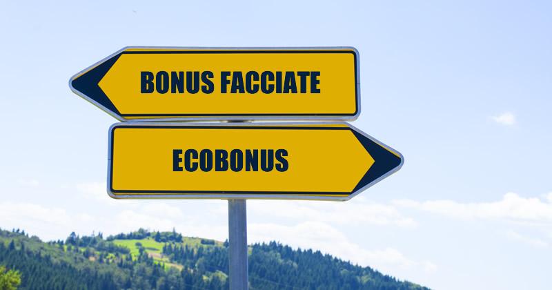 Bonus facciate o Ecobonus? chiarimenti e indicazioni sulla fruizione delle detrazioni fiscali