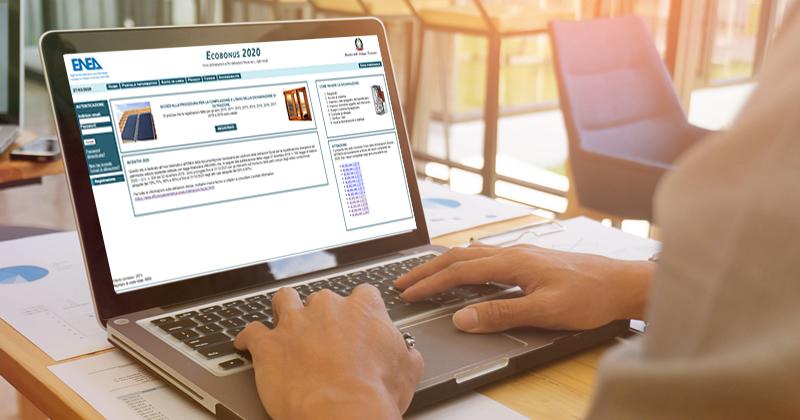 Detrazioni fiscali e Bonus facciate: online la piattaforma 2020 per l'invio della documentazione all'ENEA