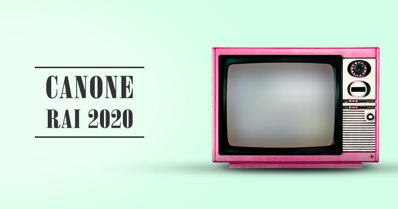 Canone RAI 2020: a quanto ammonta, chi lo paga, chi è esonerato