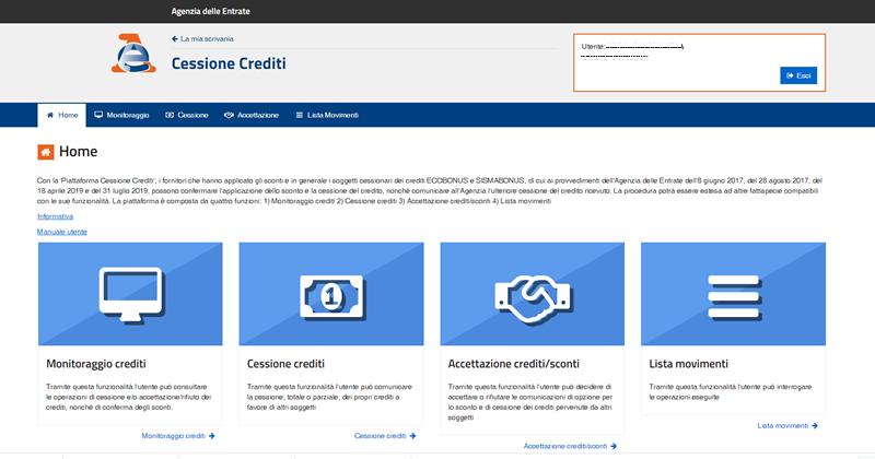 Superbonus 110%: come fare la cessione del credito per Ecobonus, Sisma Bonus e Bonus Fotovoltaico