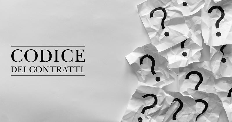 La Riforma del Codice dei contratti tra abrogazione e completamento
