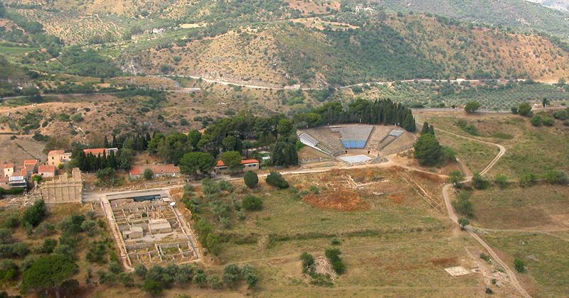 Concorso di progettazione per la riqualificazione e valorizzazione dell'area archeologica e dell'Antiquarium di Tindari (Patti)