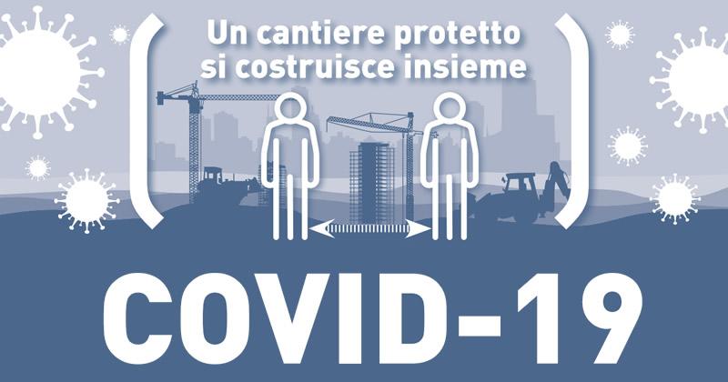 Emergenza Covid-19: dal CNCPT procedure, infografiche e check list per i cantieri edili