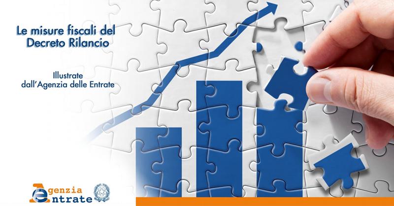 Decreto Rilancio 2020: tutte le misure fiscali nel vademecum dell'Agenzia delle Entrate