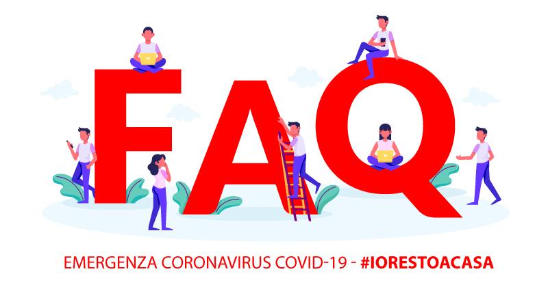 Emergenza Coronavirus COVID-19: le FAQ del Governo sul decreto #iorestoacasa