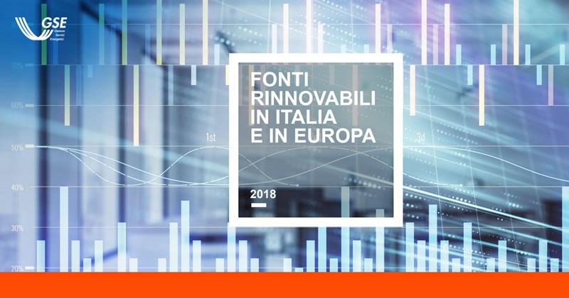 Fonti rinnovabili, dal GSE l'analisi sulla diffusione in Italia e in Europa