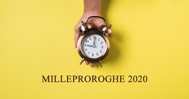 Milleproroghe 2020: Approvato definitivamente con voto di fiducia al Senato