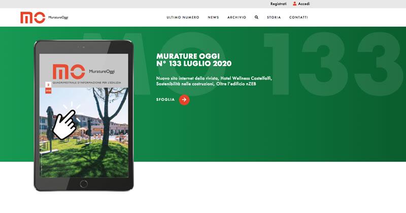 Murature Oggi: il nuovo sito web della Rivista
