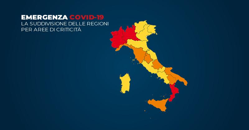 Ultime notizie Coronavirus: Abruzzo, Basilicata, Liguria, Toscana e Umbria in zona arancione. Le misure restrittive e le FAQ