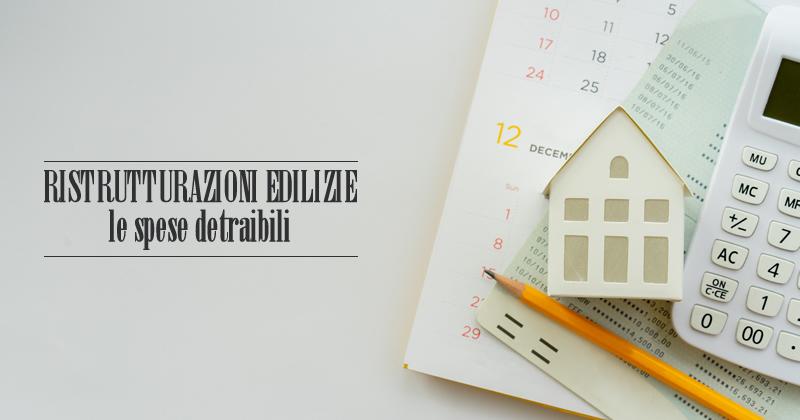 Ristrutturazioni edilizie e detrazioni fiscali: posso detrarre il costo dei materiali e del professionista?