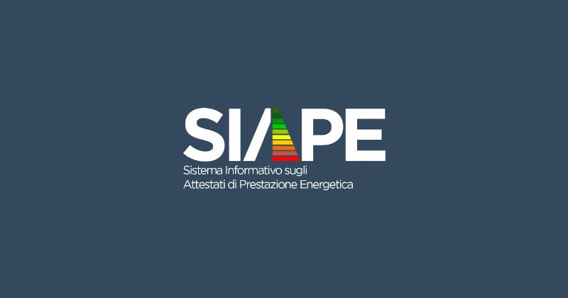 Dall'Enea il nuovo portale SIAPE per la raccolta degli Attestati di Prestazione Energetica (APE)