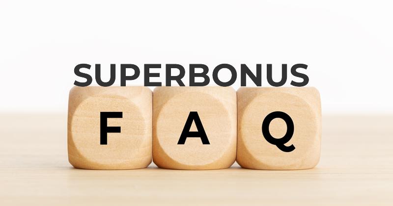 Superbonus 110%: 34 nuove FAQ sulle detrazioni fiscali previste dal Decreto Rilancio