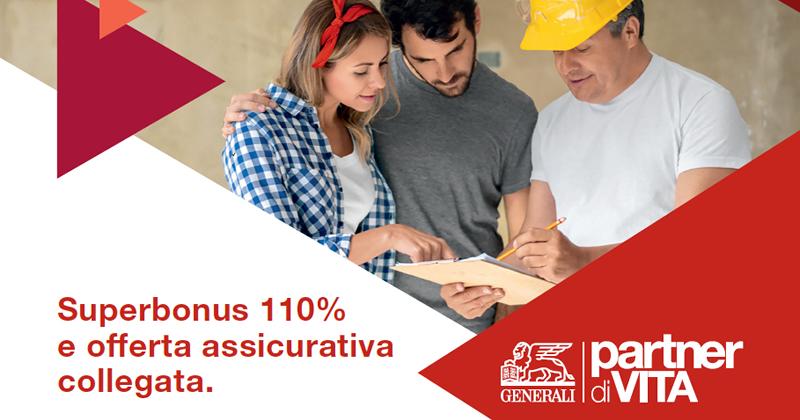 Superbonus 110%: ecco l'offerta di Generali Italia per cessione del credito e assicurazione