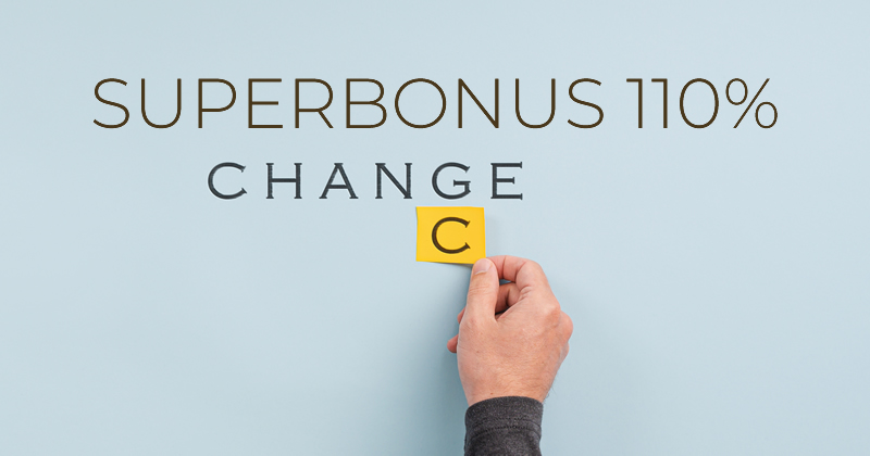 Superbonus 110%: le opportunità del decreto Rilancio