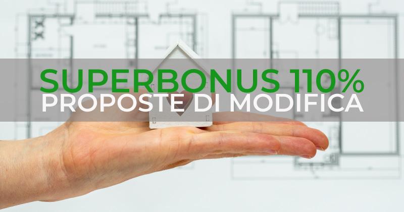 Superbonus 110%: le proposte dei tecnici sulla verifica di conformità urbanistico-edilizia