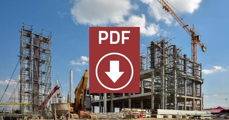 Testo Unico Edilizia 2020: scarica la versione aggiornata del DPR n. 380/2001