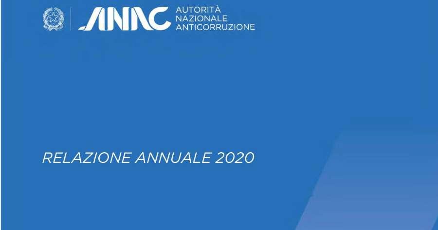 Anac. Relazione annuale alla Camera