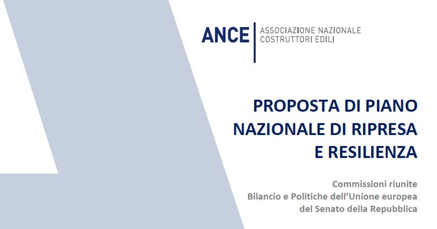 PNRR, ANCE: Puntare sulla manutenzione e semplificare le procedure per fare ripartire i cantieri