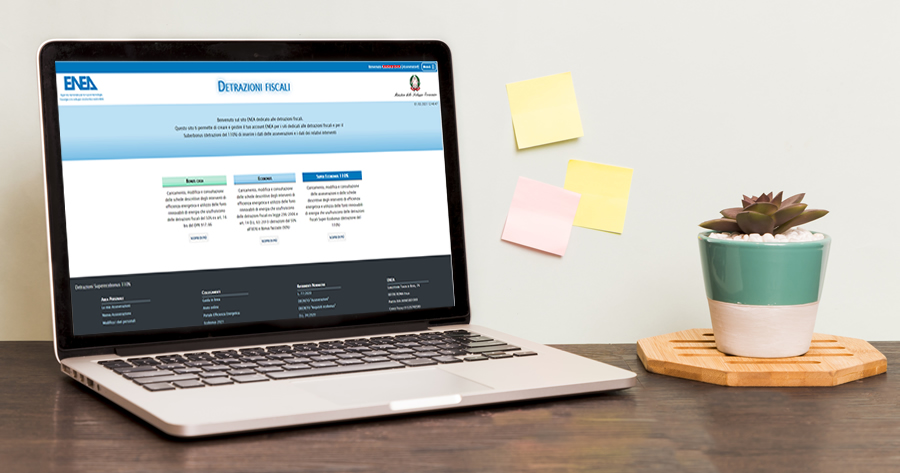 Ecobonus e Superbonus 110%: la registrazione e l'invio dell'Asseverazione all'Enea