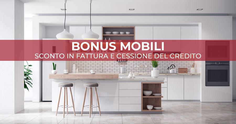 Decreto Sostegni e Bonus mobili: confermati sconto in fattura e cessione del credito