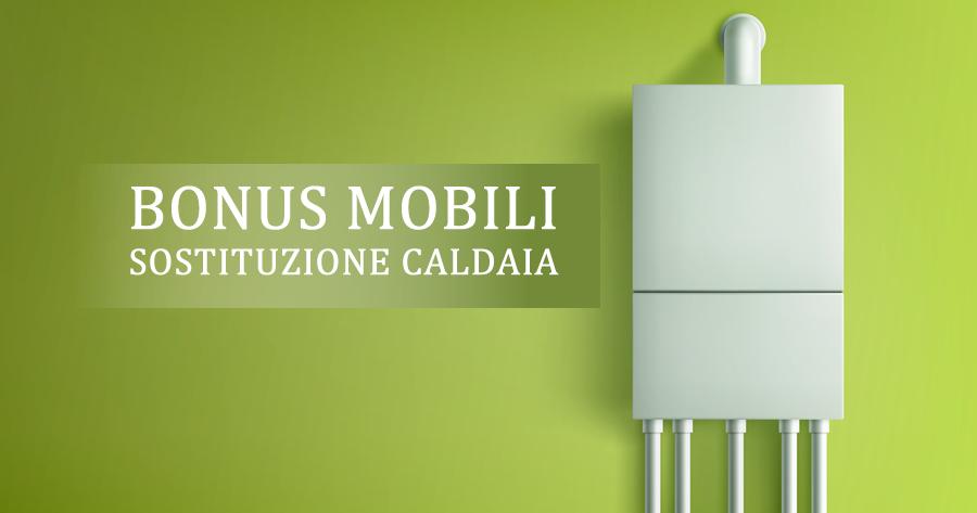 Bonus mobili e sostituzione caldaia: nuovo intervento del Fisco
