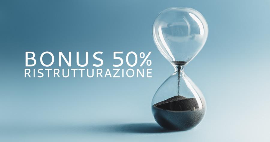 Bonus ristrutturazione 50%: solo 3 mesi per averlo